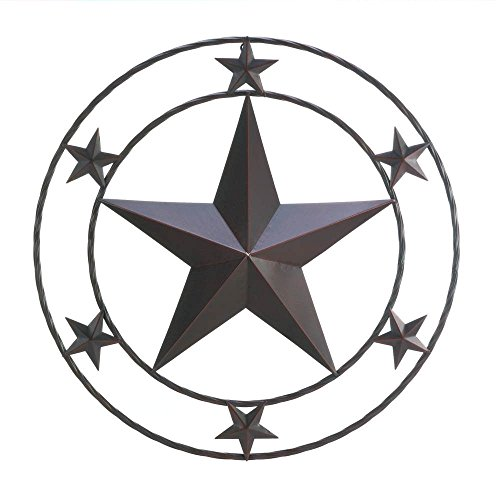 "Texas Star Wall Decor Home Decor 24""X24"""