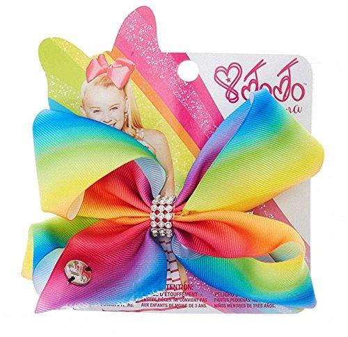 JoJo Siwa Medium Hair Bow (Rainbow) ()