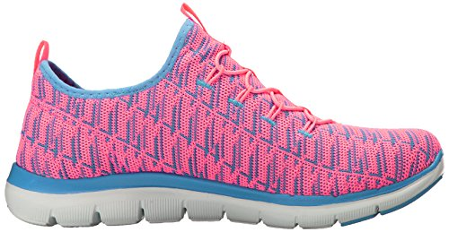 Skechers Frauen Flex Appeal 2.0 Insight Sneaker Rosa Lavendel