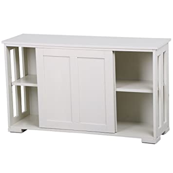 Superbe Sliding Door Buffet Sideboard Stackable Cabinets Kitchen Dining Storage  Cupboard + FREE E Book