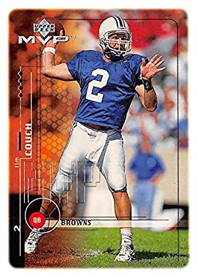 Tim Couch Football Card (Kentucky Wildcats) 1999 Upper Deck MVP Rookie #202