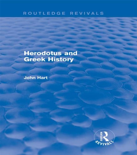 Download Herodotus and Greek History (Routledge Revivals) Pdf