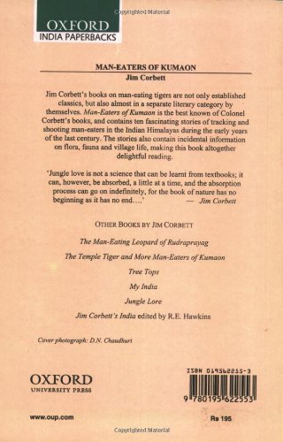Man-Eaters of Kumaon (Oxford India Paperbacks) by Oxford University Press USA