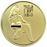 Pin Up Lucky Nude Good Luck Challenge Coin by Thompson Emporium