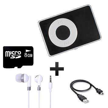8 GB Reproductor MP3 con tarjeta de memoria: Amazon.es ...