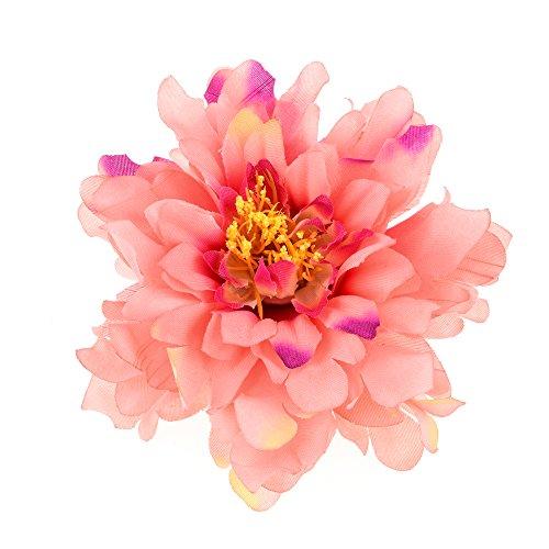 Coral Flowers Brooch - 7