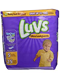Luvs Ultra Leakguards Diapers Size 5, 25 Count BOBEBE Online Baby Store From New York to Miami and Los Angeles