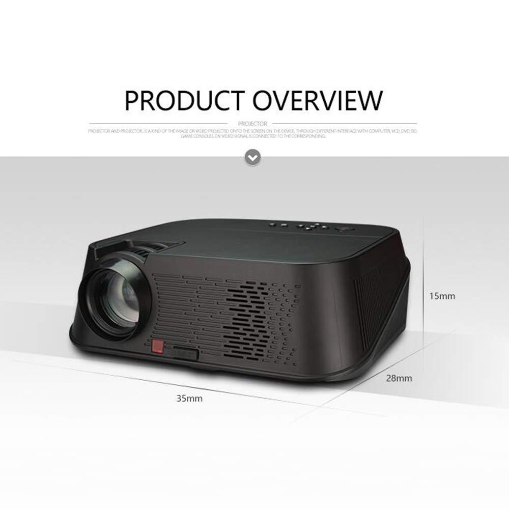 ZCP Proyector Inteligente para El Hogar HD, Cine Privado con ...