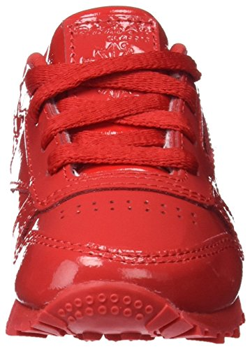 Reebok Mädchen Classic Patent Gymnastikschuhe Rot (Primal Red)