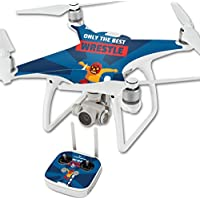 Skin For DJI Phantom 4 Quadcopter Drone – Best Wrestle | MightySkins Protective, Durable, and Unique Vinyl Decal wrap cover | Easy To Apply, Remove, and Change Styles | Made in the USA