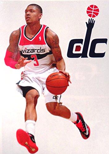 "Bradley Beal Mini FATHEAD Washington Wizards Logo Official NBA Vinyl Wall Graphics 7"" INCH"