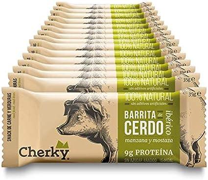 Cherky Barrita De Cerdo Ibérico Con Es De 35G. Snack Salado ...
