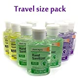 Hand Sanitizer + Moisturizer, 3 Perfect Aroma Series (Aloe Vera , Lavander, Lemon) with Vitamin E, 9 Travel Size Botles of 2oz. (18 oz / 532.8 ml ). Special Offer. (92 oz, 3 Aroma Set)