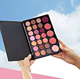 FantasyDay Pro 26 Colors Mermaid Eyeshadow and Blush Palette Eye Shadow Makeup Palette Eyes Cosmetic Contouring Kit - Ideal for Professional and Daily Use