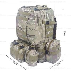 50L sdintel mochilas de senderismo bolsas de los UK, verde