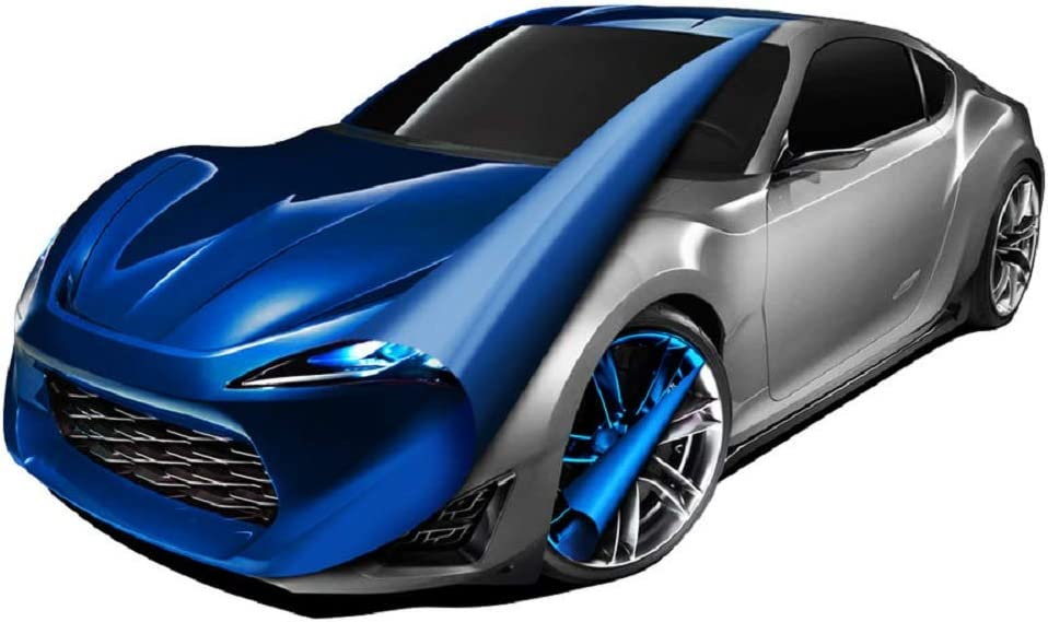 Lackfilm Spray Folien Spray Abziehbar Race Blau Auto