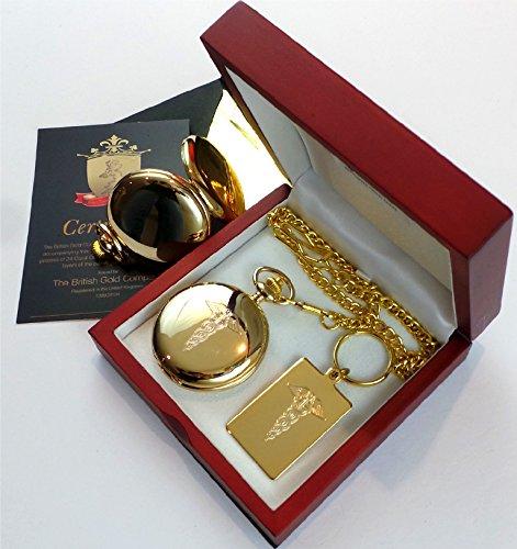 Amazon.com: La empresa británica de oro con revestimiento de ...