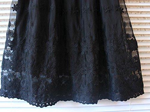 Purpura Erizo Femme Robe Courte Sans Manches A Superpositions,Blanc,Camisole