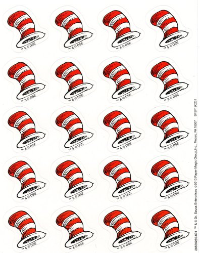 Eureka The Cat's Hat Stickers -