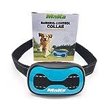 MaKa Dog Barking Control, Training Collar for Small & Medium Sized Dogs- Humane, Safe, No-Shock Anti-Bark Collar - Stop Barking With Vibration & Sound Stimuli - 7 Levels Sensitivity Adjustment