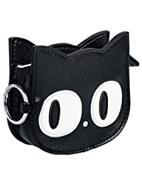 Banned Eye of The Beholder Cat Purse - Black / One Size