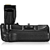 Battery Grip Holder for Canon 750D T6i 760D T6s X8i 8000D DSLR Camera, FOSITAN BG-1V Vertical Battery Pack Replacement for Canon BG-E18, Compatible with LP-E17 Battery