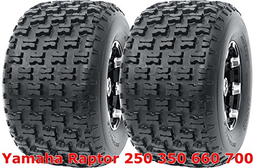 Yamaha Raptor 250 350 660 700 Set 2 Rear 20x10-9 20x10x9 Sport ATV Tires (Raptor Rims 350 Yamaha)