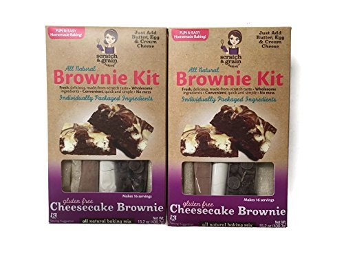 Scratch & Grain Brownie Kit Gf Cheesecke