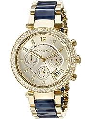Michael Kors Womens Parker Blue Watch MK6238
