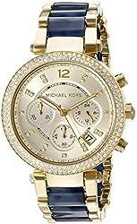 Michael Kors Women's MK6238 Parker Blue Watch