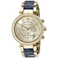 Michael Kors Women's Parker Blue Watch MK6238