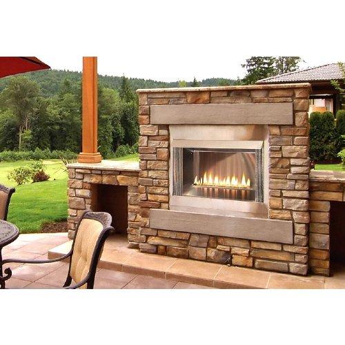 Outdoor Fireplace Kit Amazoncom