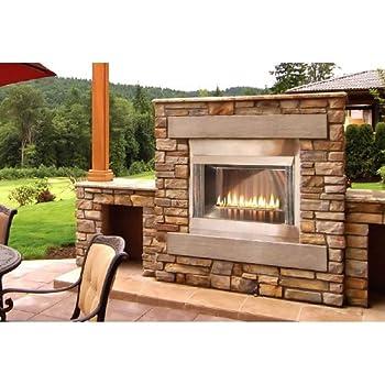 Outdoor Loft 36 inch Premium Fireplace OLP36FP72SP - Liquid Propane