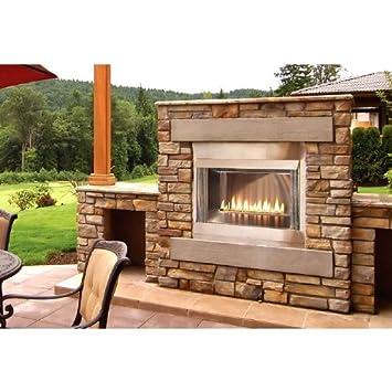 Amazon.com: Outdoor Loft 36 inch Premium Fireplace OLP36FP72SP ...