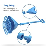 EasyGoProducts Hand Powered Clothes Washing Wand, Blue