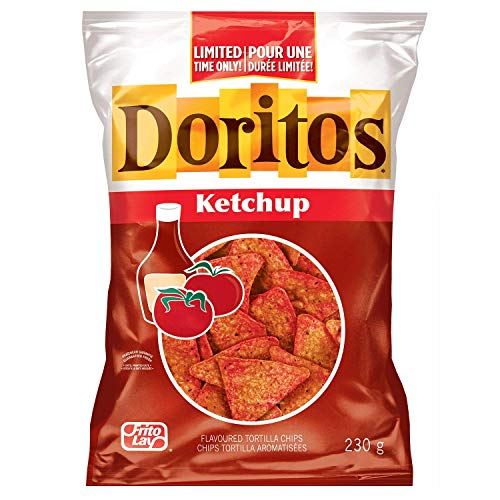 (Doritos Ketchup - 1 Large Bag Limited Time {Imported from Canada})