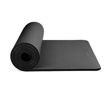 Amazon.com : H.ZHOU Exercise Fitness Yoga Mats Non-Slip Yoga ...