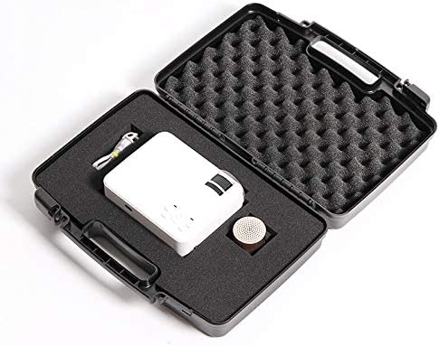 Transport Case Hard Case High Impact Resistance Equipped with a Full Set of Protective Sponges to Protect Your Valuables Black