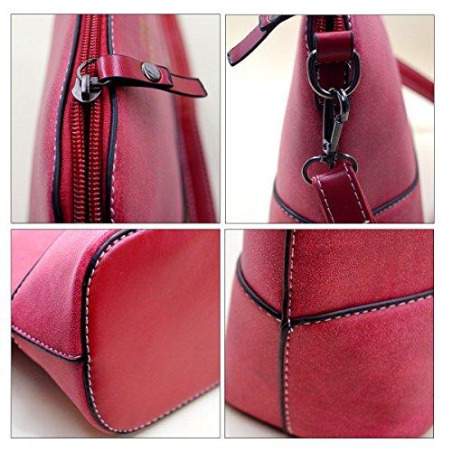 Milya Fashion Damen Handtasche Crossbody Schulter Messenger Tasche