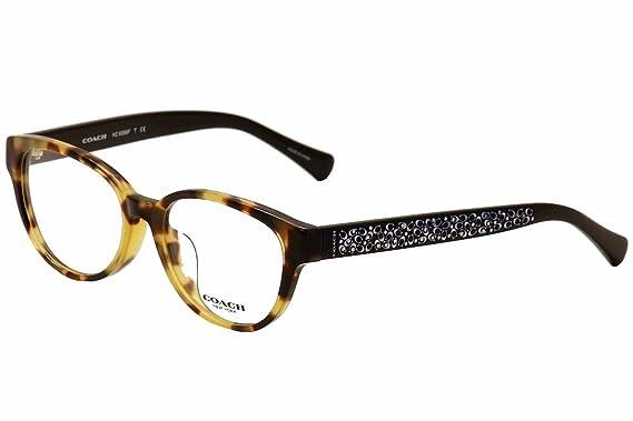 3dd13920b118 Eyeglasses Coach HC 6069 F 5311 TOKYO TORTOISE BLACK at Amazon Men s ...