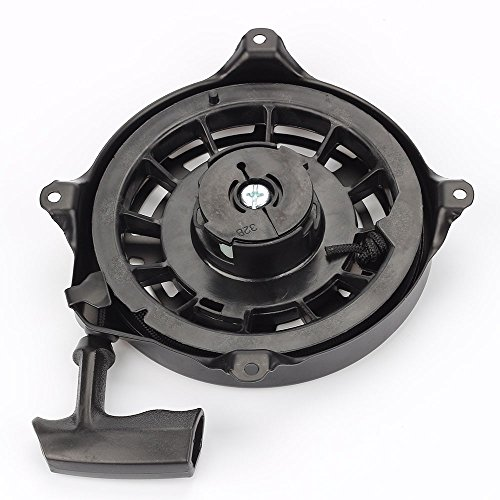 Hilom Rewind Recoil Starter for Briggs & Stratton 497680 498144 Toro Lawnboy MTD Snapper Lawnmower Oregon 31-068 and Rotary 12368