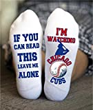 Chicago Cubs Socks Funny Birthday Gifts Baseball Game Day