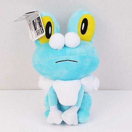 amazon com pokemon froakie soft stuffed plush toy doll kids gift
