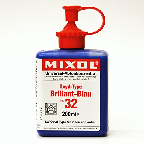 - Mixol Universal Tints, Oxide Brilliant Blue, #32, 200ml