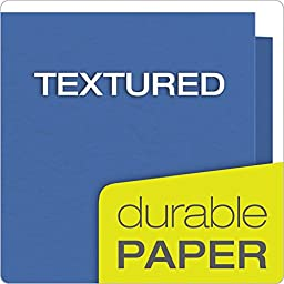 Oxford Twin Pocket Folders with Fasteners, Letter Size, Assorted Colors, 25 per Box (57715)