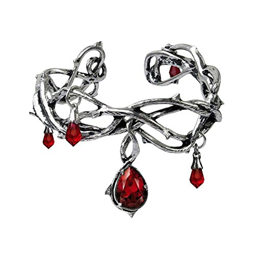 Alchemy Gothic Dripping Passion of Red Beauty Bracelet by (Alchemy Gothic Bracelet)