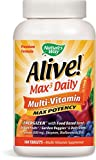 Nature's Way Alive Max Potency Multi-Vitamin Tablets, 180 Count