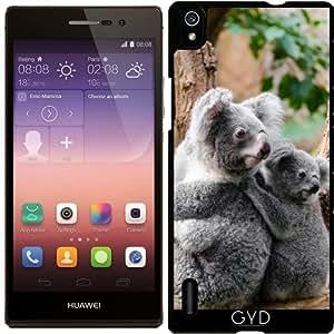 Funda para Huawei AscendP7 - Oso Koala by WonderfulDreamPicture