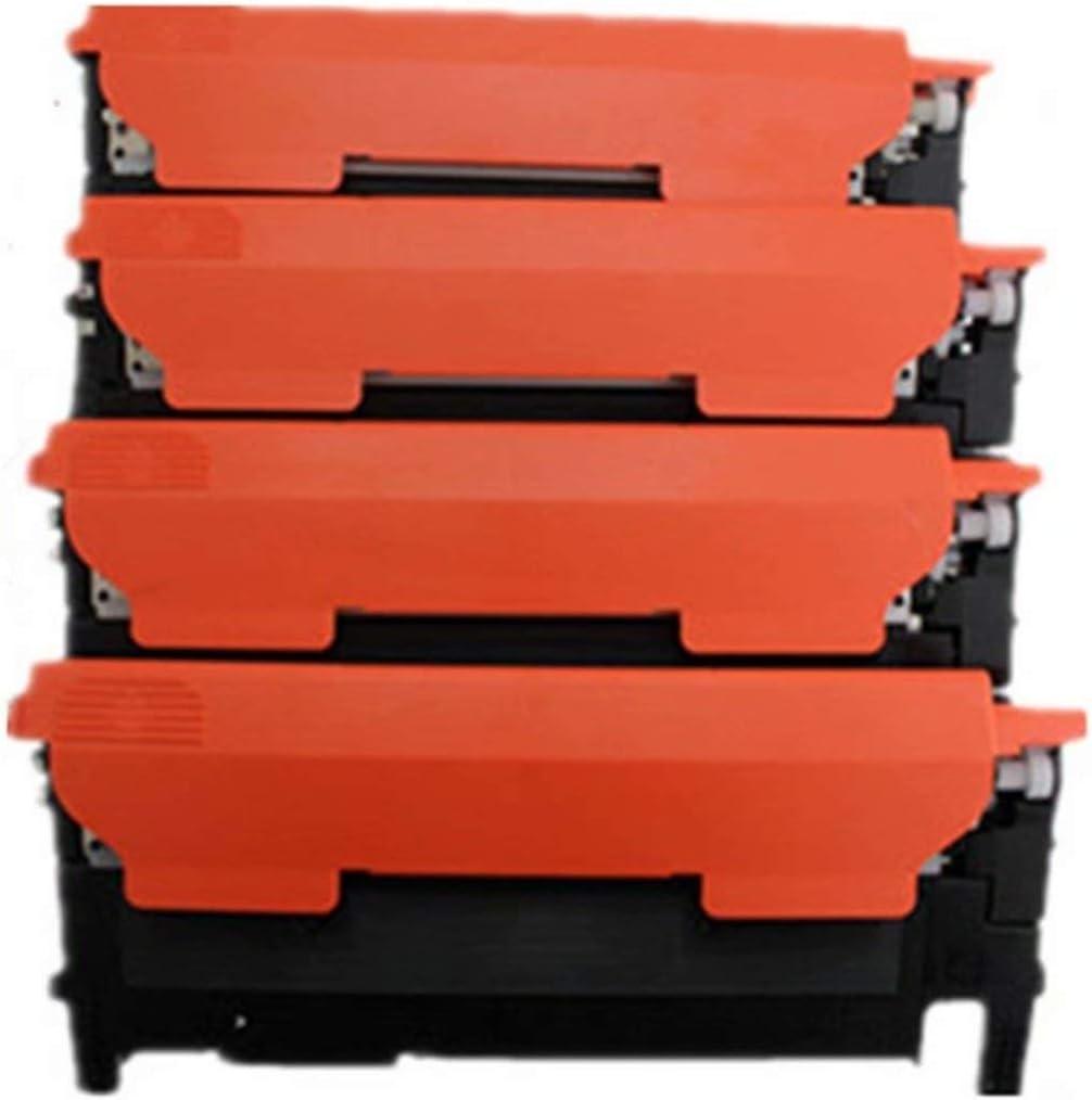 1 Magenta No-name Compatible CLT-K404S CLT-M404S M404S clt-404s CLTK404S CLT-Y404S 404S Color Toner Cartridge Replacement for Samsung C430 C430W C480 C480FN C480FW Laser Printer