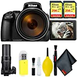 Nikon COOLPIX P1000 Digital Camera + 512GB Sandisk Extreme Memory Card Base Kit International Model For Sale